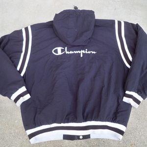 Vintage Champion Raiders Colorway Windbreaker XL